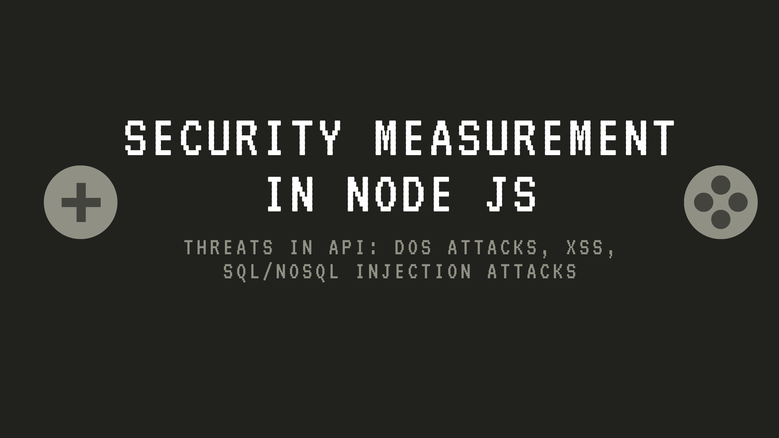 Security Measurement in Node js