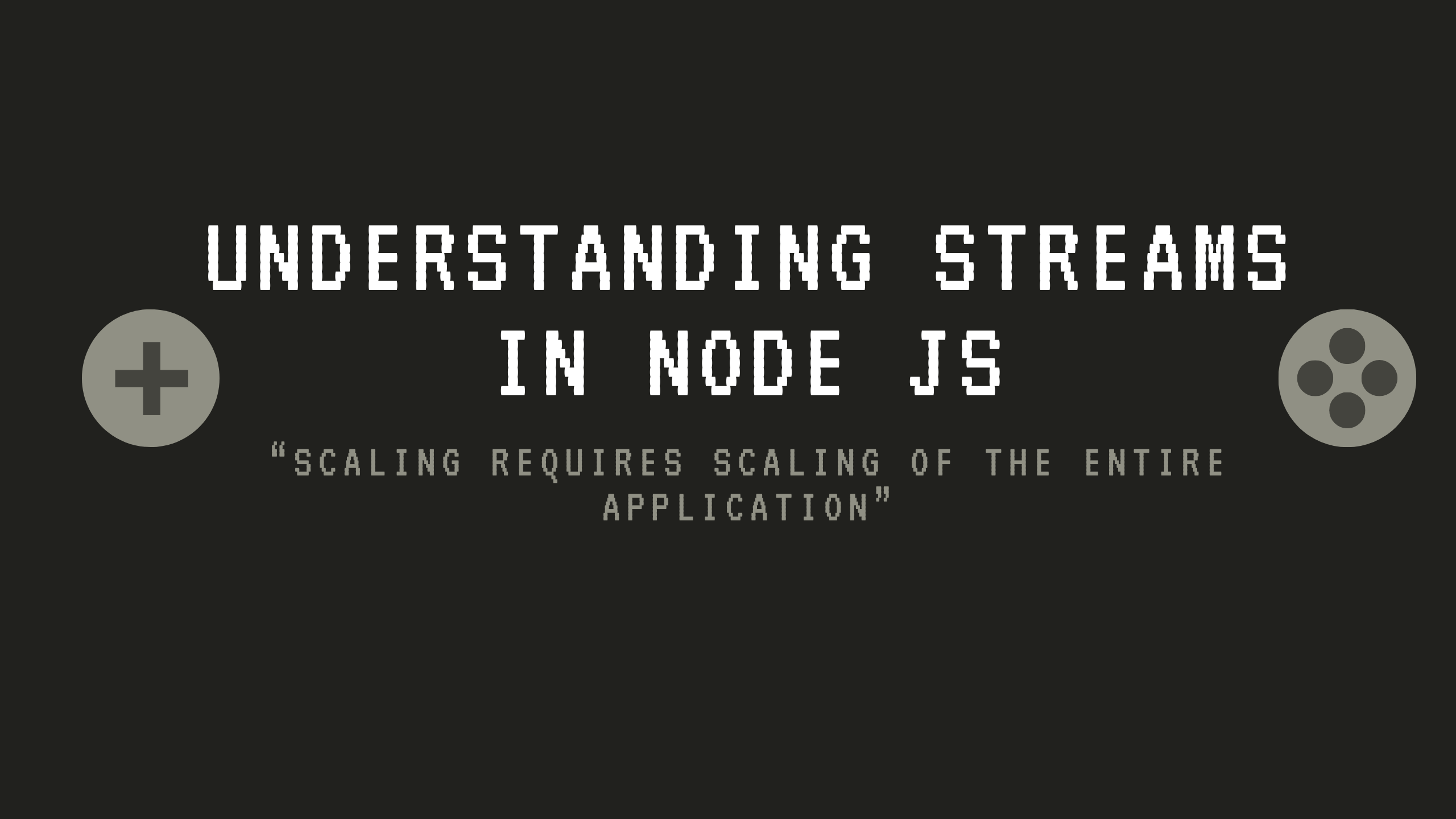 Understanding Streams in Node JS
